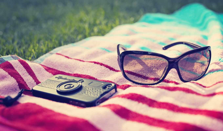 фотоаппарат, очки, devushka, priroda, зелень, ситуации, devushki, трава,