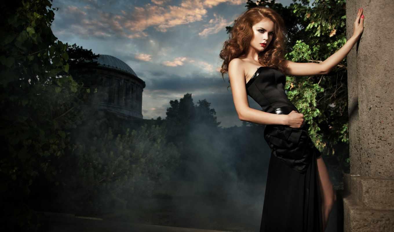 табличка, devushka, чёрное, шатенка, devushki, метки, комментарии, платья, черном,