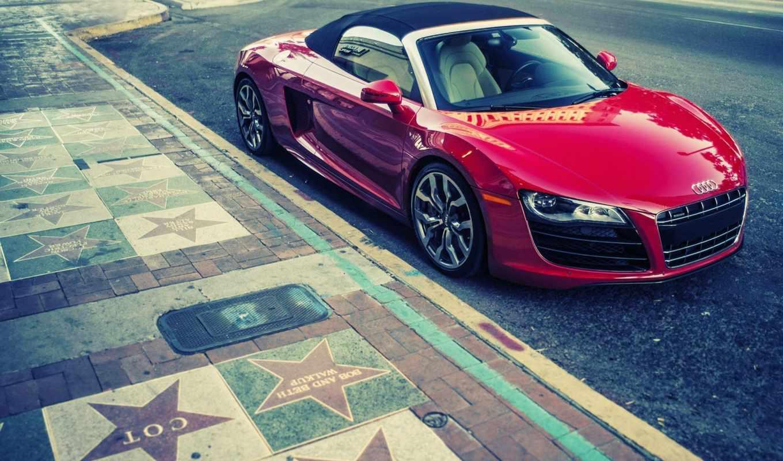 ауди, bmw, spyder, red, автомобили, опубликовал, авто,