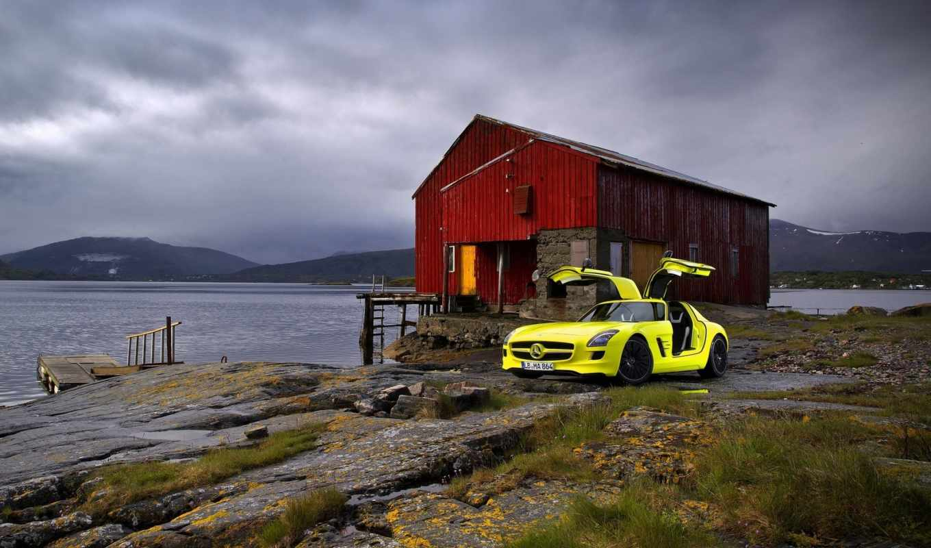 amg, mercedes, sls, benz, cell, concept, front, wallpaper, angle, cars, wallpapers,