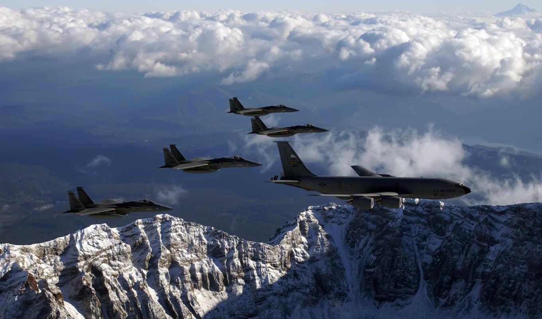 самолёт, небо, горы, полет, авиация, облака, летит, лайнер, desktop, fighter, plane, airplane, avia, kc,