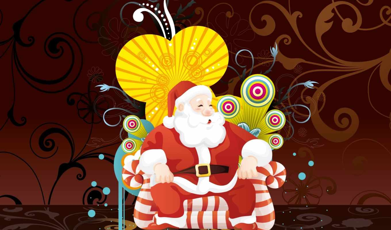 کریسمس, claus, christmas, santa, art,