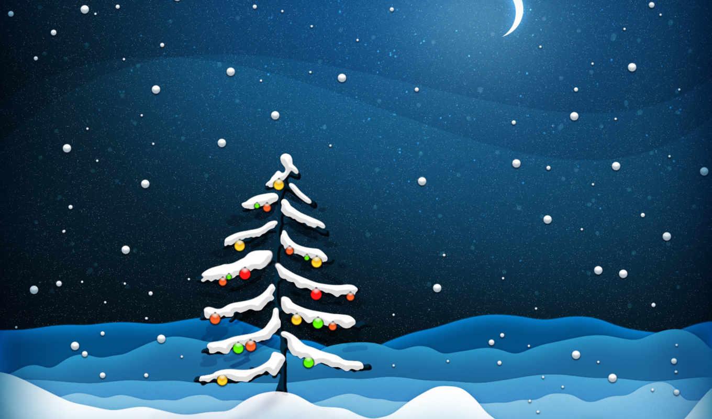 новый, год, снег, елка, украшения, christmas, xmas, desktop, resolution, fall,