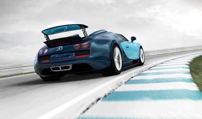 bugatti, veyron, vitesse, grand, спорт,