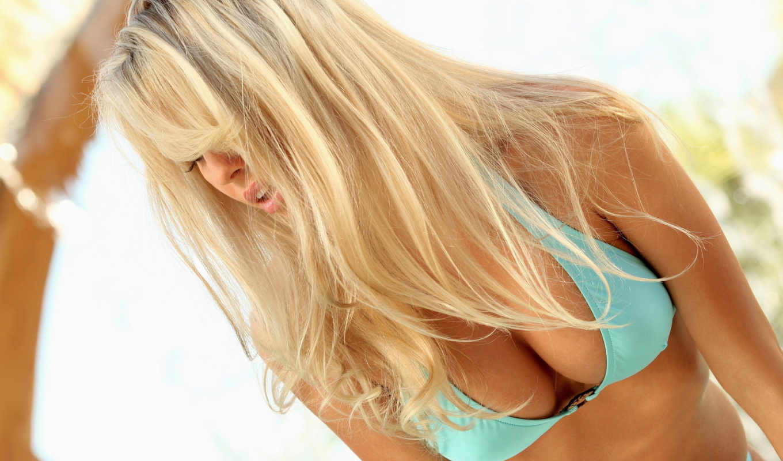 blonde, девушка, грудь, devushki, bailey, роза, волосы,