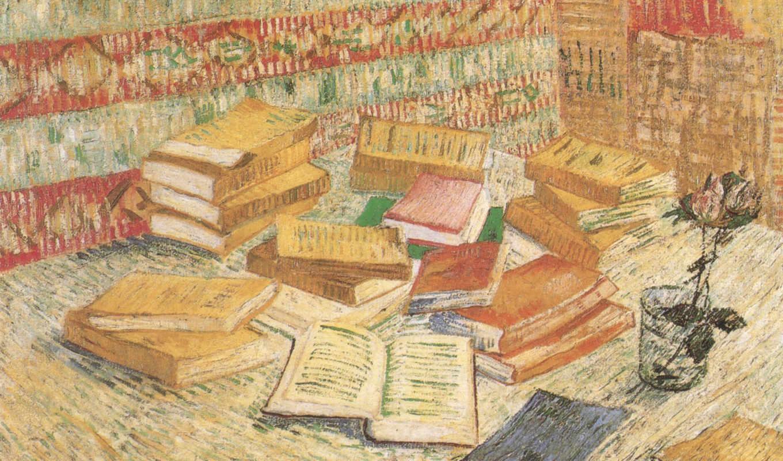 ван, гог, винсент, книги,