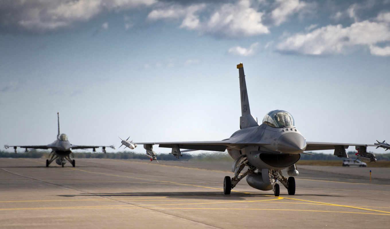 самолёт, военный, полосе, американский, самолетов, взлетной,