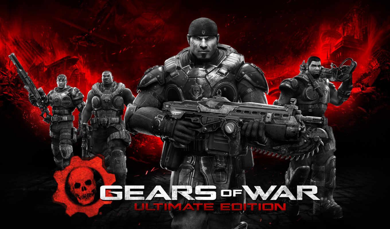 gears, war, ultimate, издание, xbox, one, windows, мар,