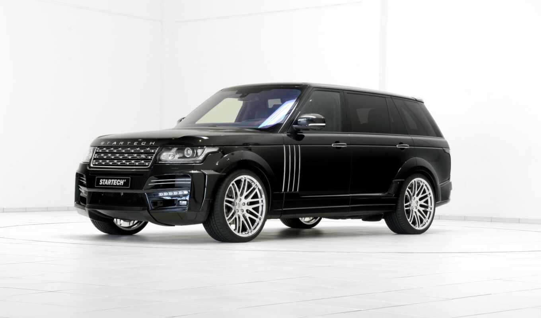 rover, range, land, white, startech, car, black, alto, черная