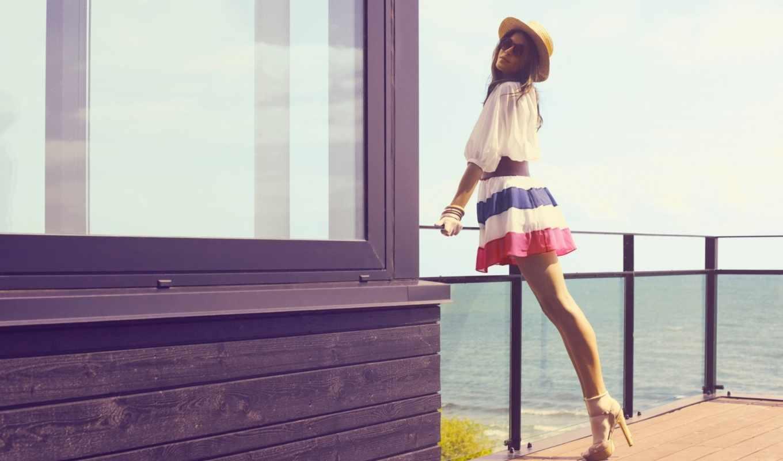 стиль, девушка, devushki, шляпа, модель, если,