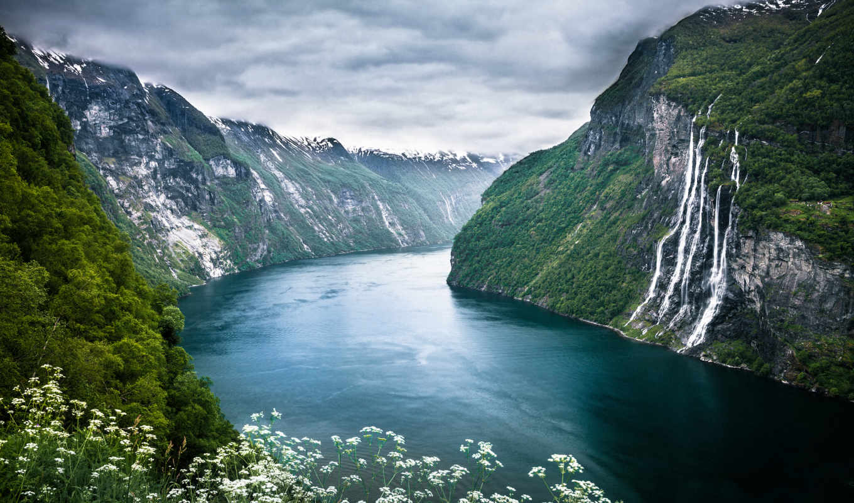 wikipoints, норвегия, норвегии, мост, fjord, park, geiranger, норвегию, trolley, долина,