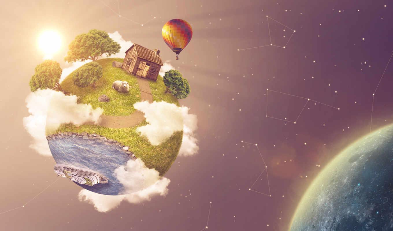 зелёный, planet, facebook, desktop, free, images,