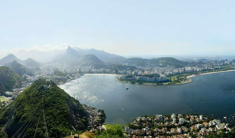 cities, desktop, high, background, rio, janeiro,