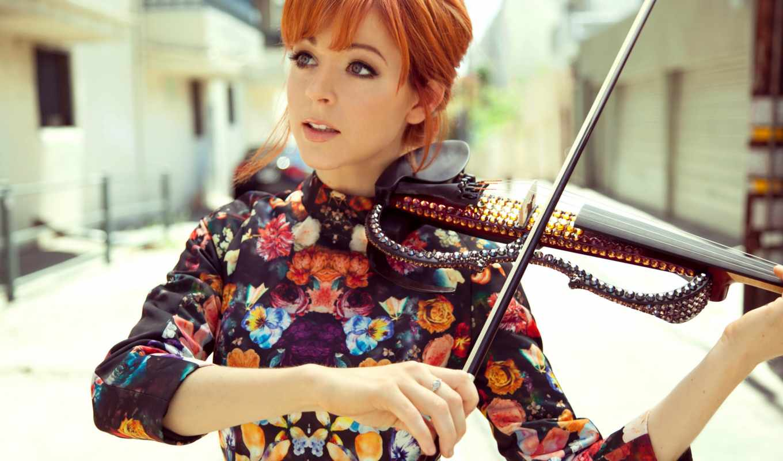 скрипка, линдси, lindsey, stirling, девушка,