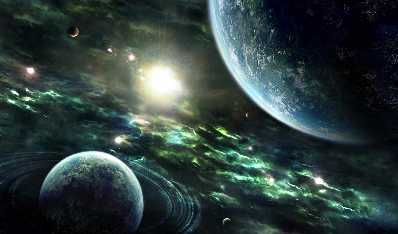 space, планеты, fires, fonds, planets, heaven, free, desktop, digital, universe, background, stars, солнце, земля,