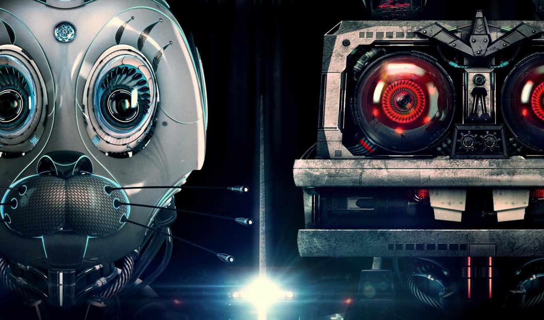 нью, погоди, robot, заяц, плакат,
