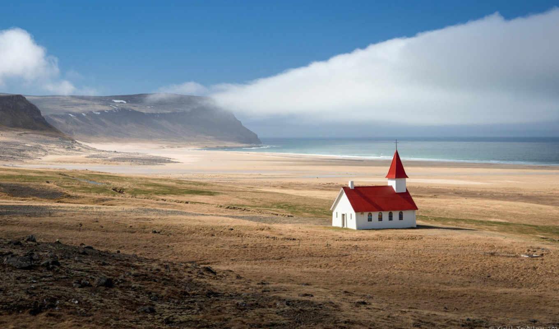храм, iceland, красивые, горы, ago, нравится, просмотров,