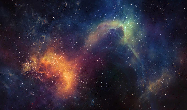 космос, звезды, широкоформатные,