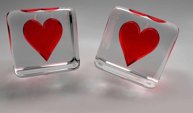 love, сердца, прозрачный