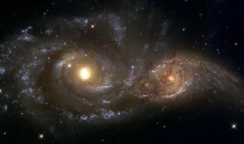 galaxies, ngc, spiral, space, nasa, galaxie, two, tapeta, collision, this, галактики,