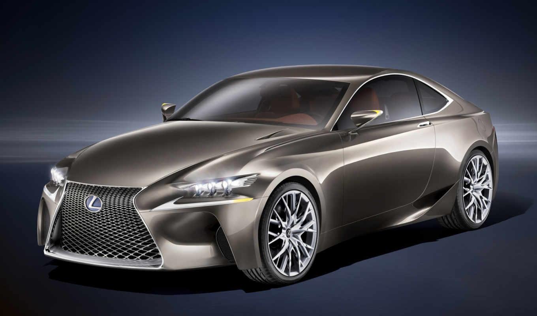 lexus, concept, hybrid, купе,