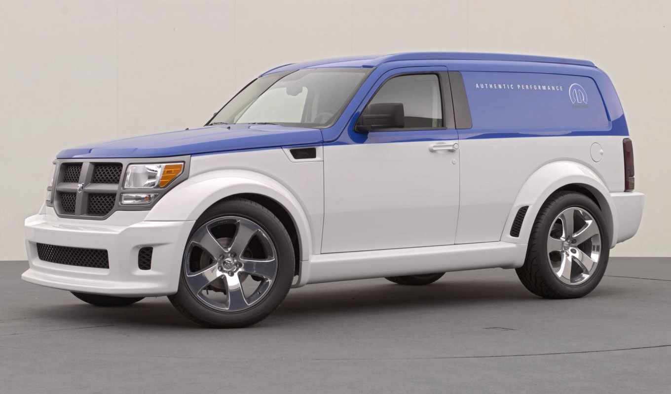 dodge, nitro, wagon, panel, community, concept, th