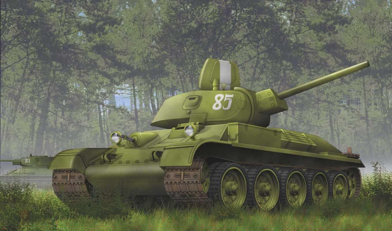 танкк, лес, советский, ww, смотрите,