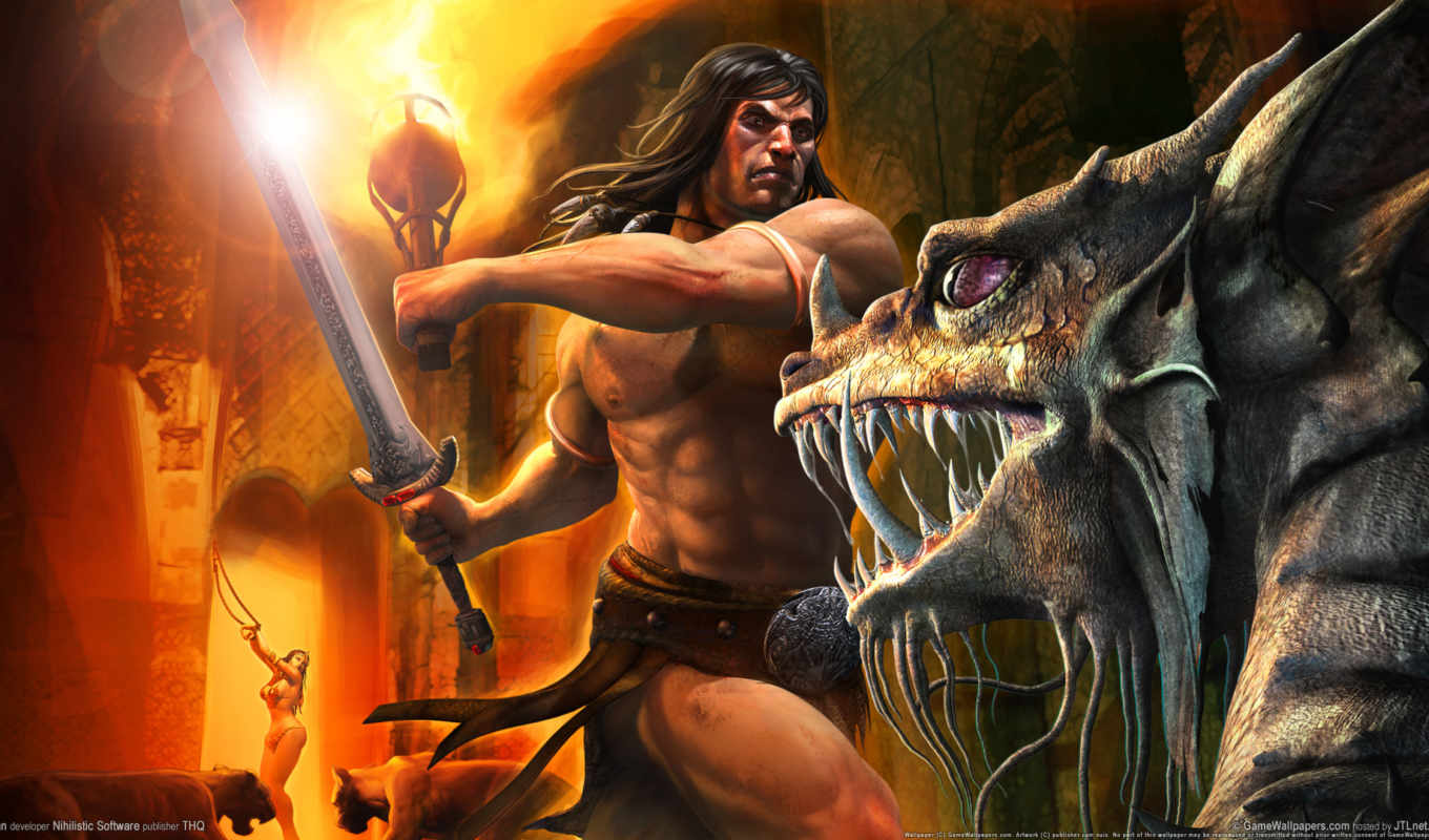 conan, other, миры, barbarian, game,