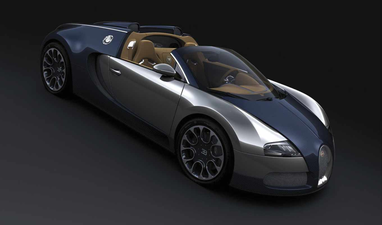 bugatti, veyron, the, grand, sport, car, sang, ble