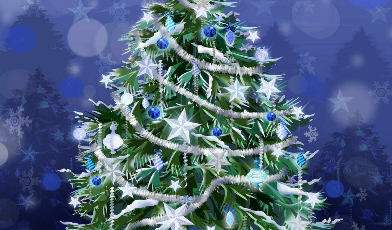 christmas, new, year, новогодние, vector, merry, winter, xmas, украшения, елка, normal, закладки,