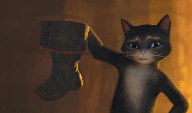 сапогах, кот, puss, boots,