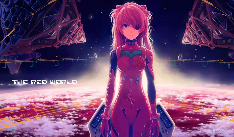 anime, hành, hoạt, evangelion, девушка, desktop, nhất,