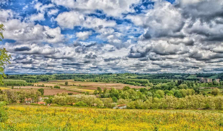 природа, небо, пейзажи -, красивая, большой, landscape, oblaka, количество, детей, margin, красивые,