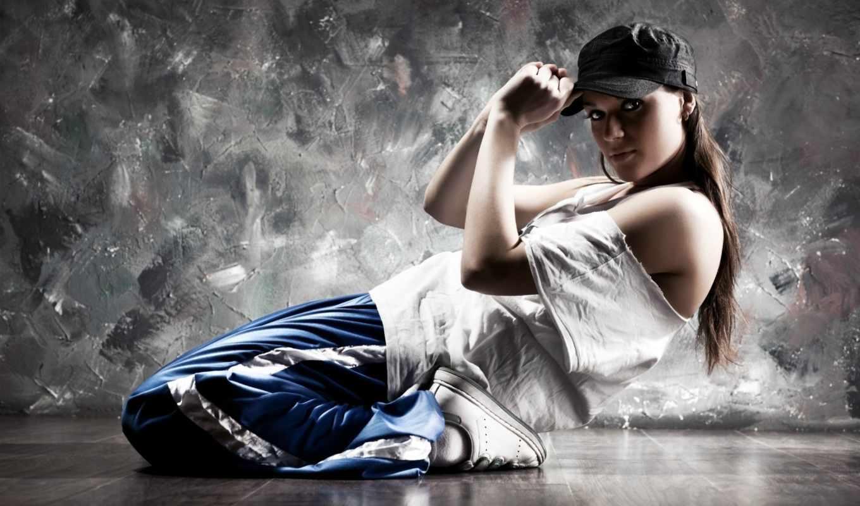 стиль, dance, девушка, спорт, движение, кепка, картинку, правой, выберите, кнопкой, мыши, картинка,