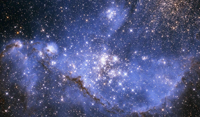 stars, фон, nebula,
