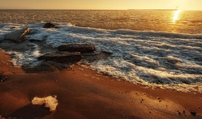 playa, разных, разрешениях, волны, море, пляж, берег, mansa,