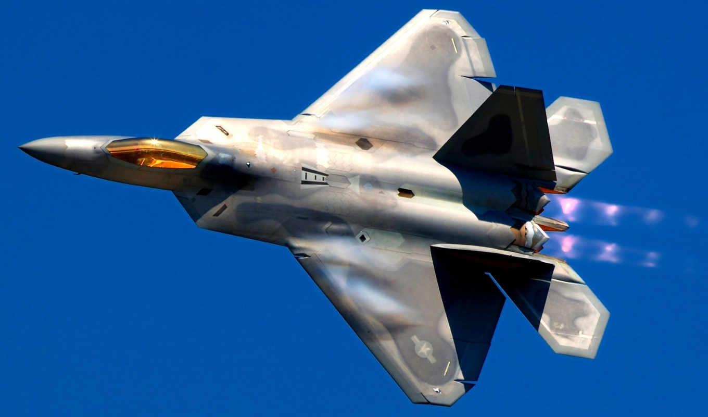 raptor, поколения, пятого, самолёт, martin, lockheed, выхлоп, истребитель, авиация, многоцелевой, avion, шпалери, force, air,