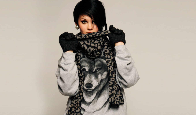 девушка, волком, кофте, devushki, разных, волк, разрешениях,
