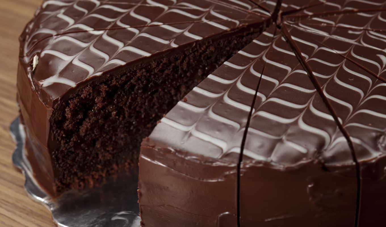 chocolate, торт, глазурь, candy, еда, десерт,