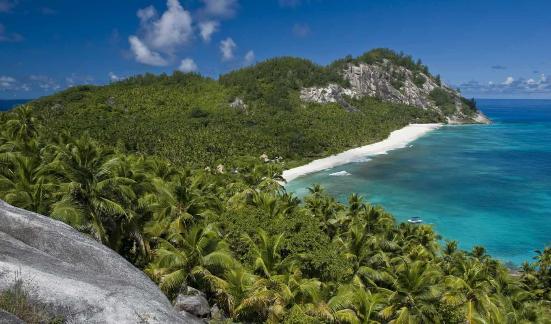 остров, north, сейшелах, частное, сейшельских, luxurious, островах, земли, острове, рай,