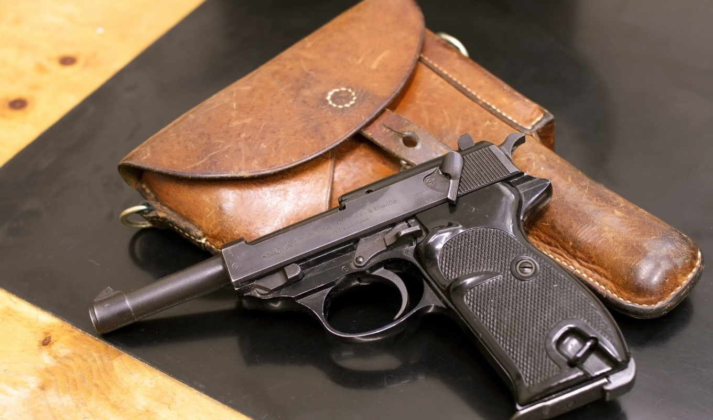 walther, мм, оружие, пистолет, cal, кобура,