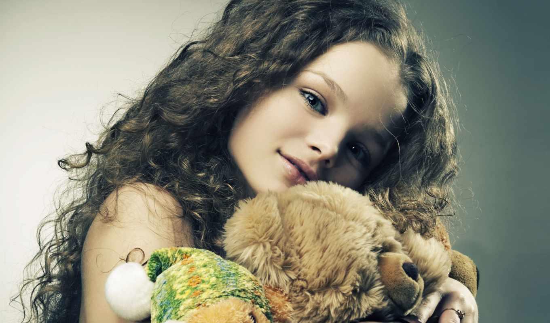 плюшевый, мишка, плюшевые, девушка, мишки, игрушки, медведь, мишкой, игрушками,