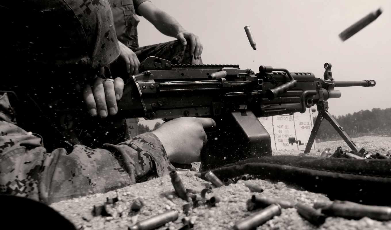пулеметчик, вернуться, поделиться, изображения, saw, оружие, пулемет,