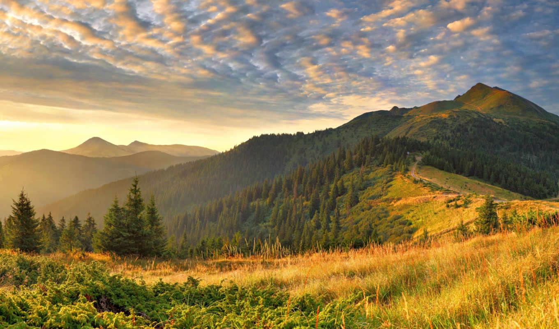 красивые, пейзажи, природа, природы, фотографии, красивых, широкоформатные, вода,