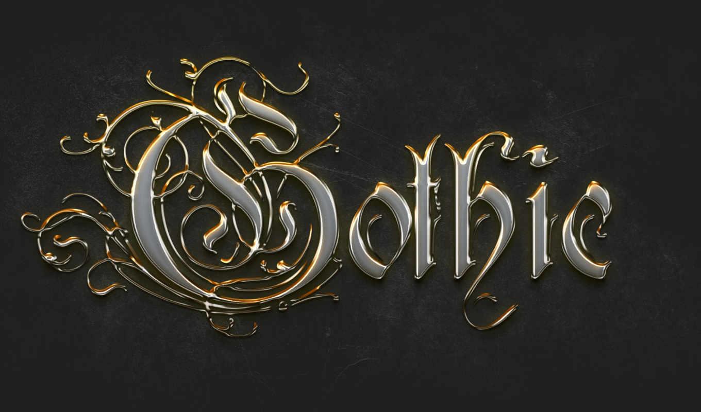 gothic, готические, gold, красивые, разное, широкоформатные,