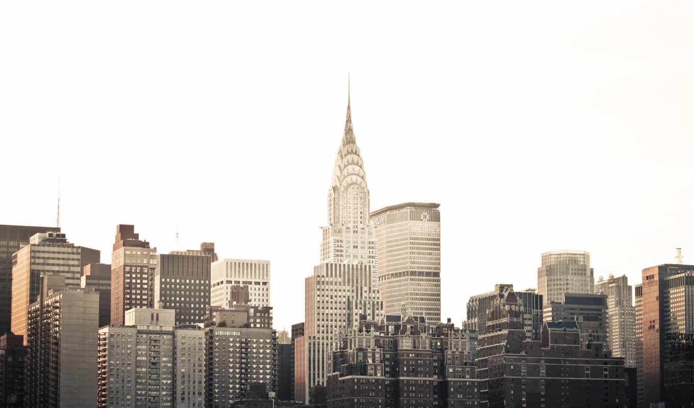 город, небоскрёб, города,