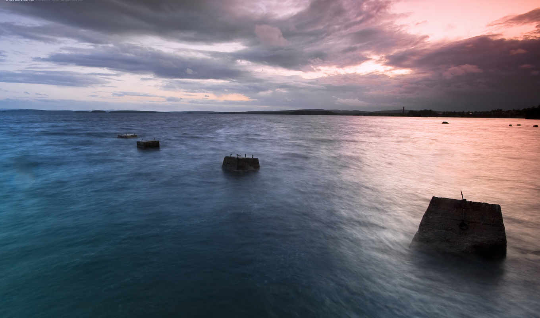 море, silent, закат, подробнее, добавить, favorites,
