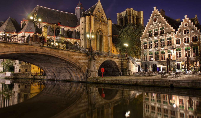 брюгге, город, бельгия, города, one, самых, городов, бельгии,