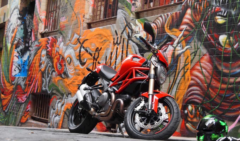 ducati, monster, мото, мотоцикл, bike, motorbikes,