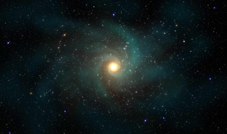 галактика, спираль, звезды,